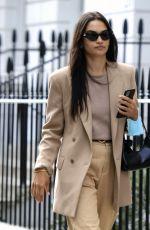 SHANINA SHAIK Out in London 09/15/2020