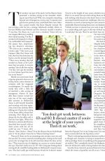 SHARON STONE in Town & Country Magazine, October 2020