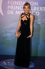 SIENNA MILLER at Monte-carlo Gala for Planetary Health 09/24/2020
