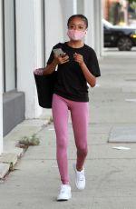 SKAI JACKSON Arrives at DWTS Studio in Los Angeles 09/25/2020