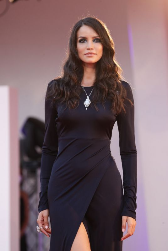 SOFIA RESING at The World to Come Screening at 2020 Venice Film Festival 09/06/2020