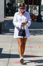 SOFIA RICHIE Heading to a Hair Salon in West Hollywood 09/24/2020