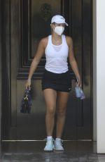 SOFIA RICHIE Leaves Tennis Court in Malibu 09/29/2020