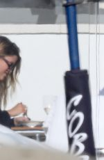 SOFIA RICHIE Out for Lunch with Friend in Malibu 09/19/2020