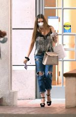 SOFIA VERGARA Out Shopping in Los Angeles 09/18/2020