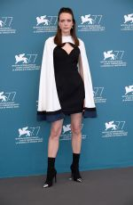 STACY MARTIN at Lovers Photocall at 77th Venice Film Festival 09/03/2020