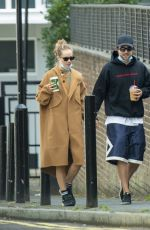 SUKI WATERHOUSE and Robert Pattinson Out in London 09/16/2020