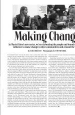 SUKI WATERHOUSE in Marie Claire Magazine, September 2020