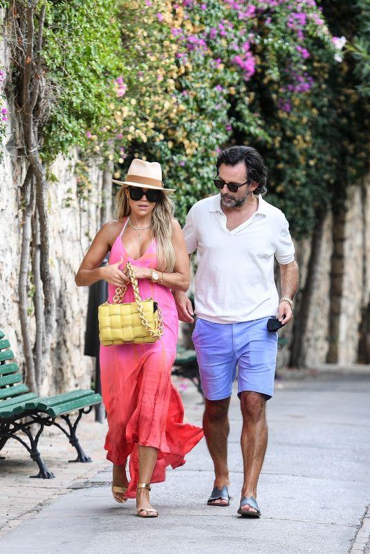 SYLVIE MEIS and Nicals Castello on Honeymoon in Capri 09/23/2020