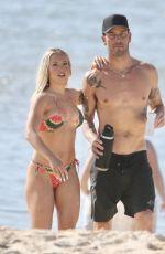 TAMMY HEMBROW in Bikini at Currumbin Beach 09/20/2020