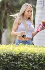 TAMMY HEMBROW Out n Brisbane 09/07/2020