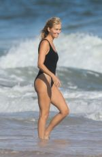 TAYLOR NEISEN in Swimsuit at a Beach i The Hamptons 09/06/2020