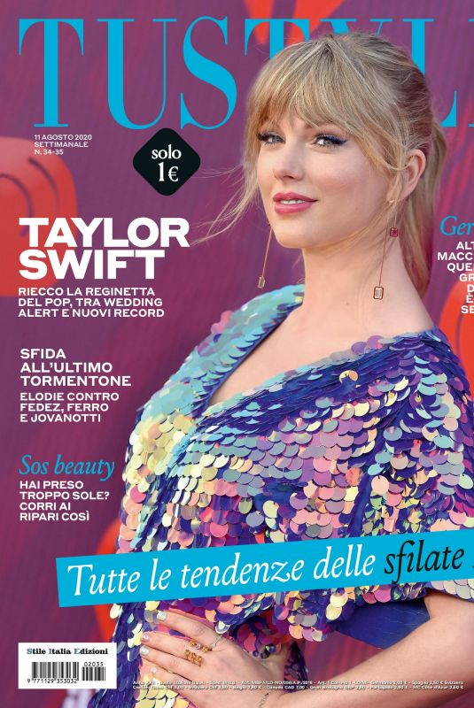 TAYLOR SWIFT in Tu Style Magazine, August 2020