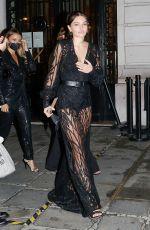 THYLANE BLONDEAU Leaves Etam Fashion Show at PFW in Paris 09/29/2020