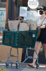 TIFFANI THIESSEN Shopping at Whole Foods in Los Angeles 08/30/2020