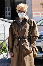 TILDA SWINTON Arrives at Venice Airport 09/01/2020