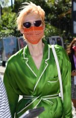 TILDA SWINTON Out and About in Venice 09/02/2020