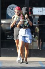 VANESSA HUDGENS and GG MAGREE at Coffee Bean & Tea Leaf in Los Angeles 09/05/2020
