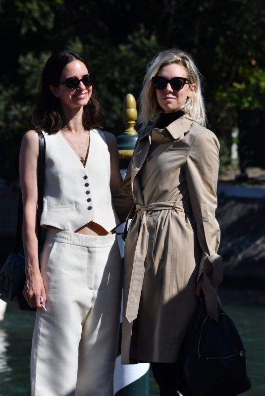 VANESSA KIRBY and KATHERINE WATERSTON at 77th Venice Film Festival 09/09/2020