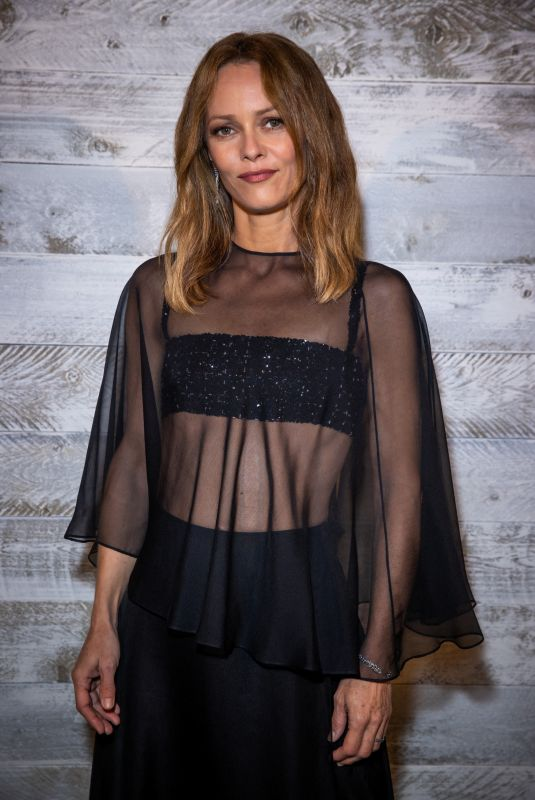VANESSA PARADIS at Chanel's Dinner at 2020 Deauville American Film Festival 09/11/2020