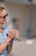 VANESSA PARADIS at Inauguration of Gabrielle Chanel Square at 46th Deauville American Film Festival 09/11/2020