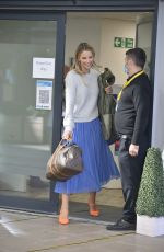VOGUE WILLIAMS Leaves a TV Studio in Leeds 09/30/2020
