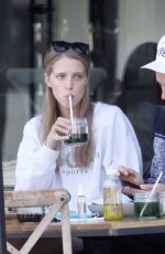 ABBY CHAMPION and Patrick Schwarzenegger at Kreation in Brentwood 10/29/2020