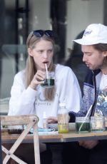 ABBY CHAMPION and Patrick Schwarzenegger Out for Lunch in Brentwood 10/29/2020