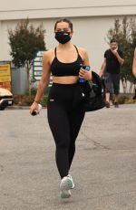 ADDISON RAE Leaves a Yoga Class in West Hollywood 10/20/2020