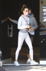 ALESSANDRA AMBROSIO Heading to a Private Workout Session in West Hollywood 10/27/2020