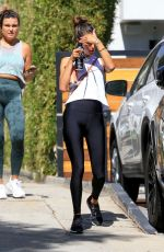 ALESSANDRA AMBROSIO Heading to Yoga Class in West Hollywood 10/13/2020