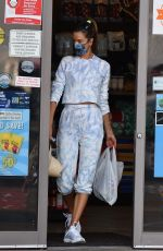 ALESSANDRA AMBROSIO Shopping at a Convenient Store in Brentwood 10/06/2020