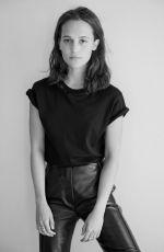 ALICIA VIKANDER for Elle Magazine, France September 2020