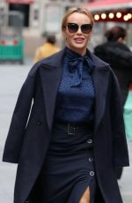 AMANDA HOLDEN Arrives at Global House in London 10/01/2020