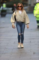 AMANDA HOLDEN Arrives at Global Studios in London 10/09/2020