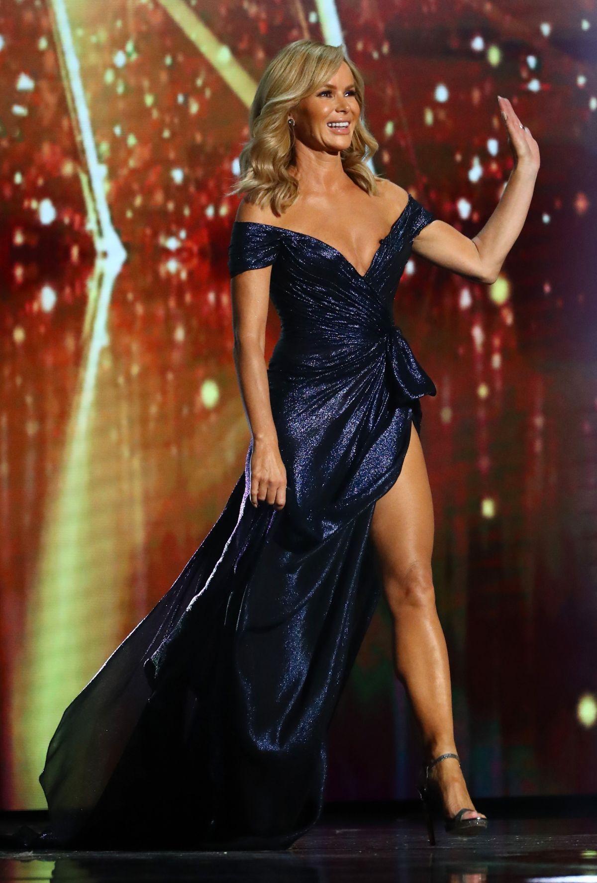 AMANDA HOLDEN at Britain's Got Talent 09/26/2020 - HawtCelebs