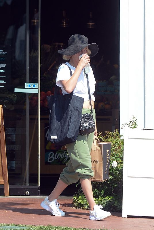 AMBER VALLETTA Out for Coffee in Los Angeles 10/06/2020