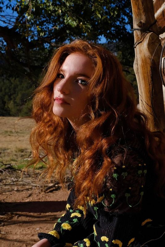 ANNALISE BASSO at a Photoshoot, October 2020