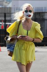 ANNE HECHE Arrives at Dance Rehersal in Los Angeles 09/19/2020