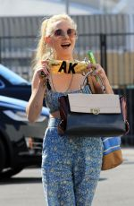 ANNE HECHE Arrives at Dancing with the Stars Studio in Los Angeles 10/03/2020