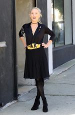 ANNE HECHE at a Dance Studio in Los Angeles 10/02/2020