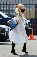 ANNE HECHE at Dancing with the Stars Studio in Los Angeles 10/04/2020