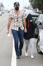 ARIEL WINTER and Luke Benward Out in Malibu 10/22/2020