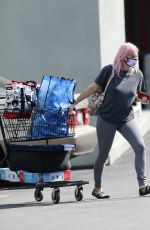 ARIEL WINTER Shopping at Petco in Los Angeles 10/17/2020