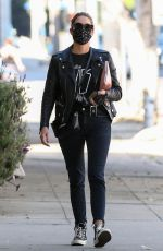ASHLEY BENSON Out and About in Los Angeles 10/27/2020