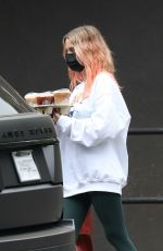 ASHLEY BENSON Out for Coffee in Los Angeles 10/22/2020