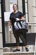 ASHLEY GRAHAM Leaves a gym in New York 10/02/2020