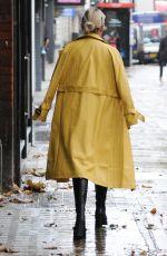 ASHLEY ROBERTS Leaves Global Studios in London 10/29/2020