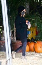 ASHLEY TISDALE at a Pumpkin Festival in Los Angeles 10/21/2020