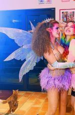 BELLA and DANI THORNE as a Fairy Sisters - Istagram Photos 10/19/2020